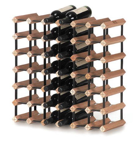 Stojan na víno na 42 lahví